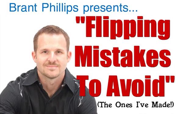 Flipping Mistakes To Avoid