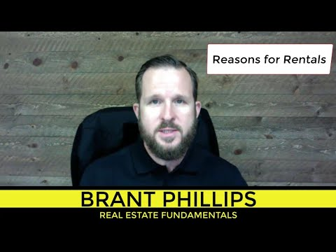 Part 1: Reasons for Rentals
