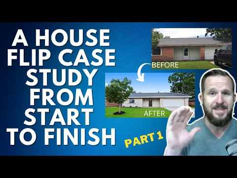 A House Flip Case Study from Start To Finish