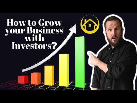 How to Grow your Business with Investors❓