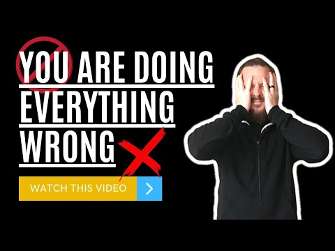 🛑 YOU ARE DOING EVERYTHING WRONG ❌