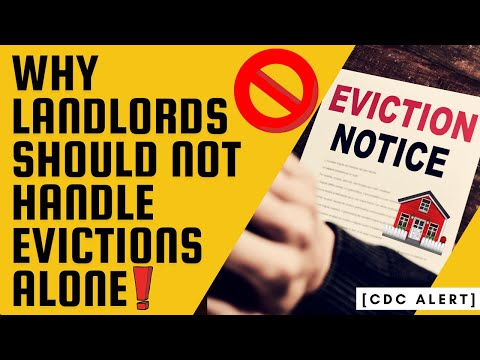Are you a landlord?🏠 DON'T handle your evictions ALONE!❌
