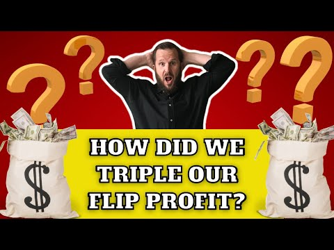 How We Tripled Our Flip Profit 💲💲💲 With The Survey 📝
