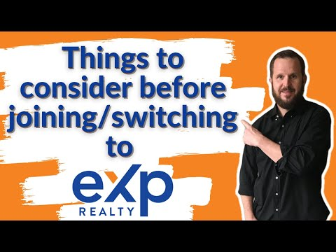 Things to consider before joining/switching to EXP Realty
