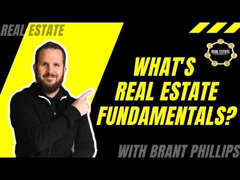 What is Real Estate Fundamentals with Brant Phillips?
