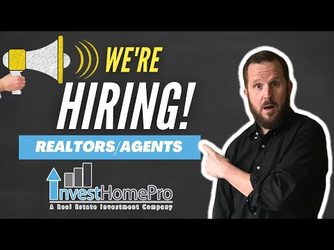 Are you a Real Estate Agent/Investor??? We're HIRING! (Invest Home Pro) | Brant Phillips