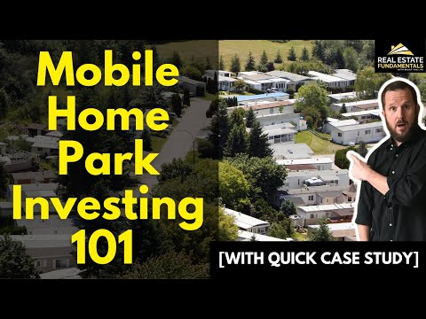Mobile Home Park Investing 101 💰[with quick Case Study]🔍